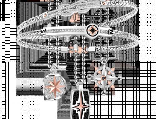 Zancan / Jewels / Insignia / ec631 + ec628 + ec625 + eb669 + eb687